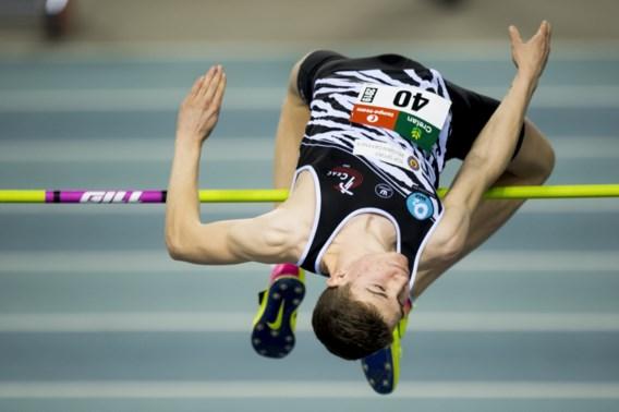 Thomas Carmoy verbetert Belgisch juniorenrecord in het hoogspringen