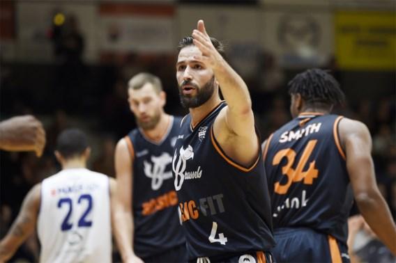 Brussels pakt elfde zege op een rij en kan eerste plaats in Euromillions Basket League ruiken
