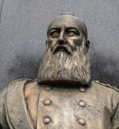 Buste Leopold II niet gestolen, maar meegenomen voor restauratie