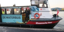 Eerste passagiers positief over veerponten De Waterbus