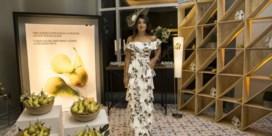De jurk die peren promoot