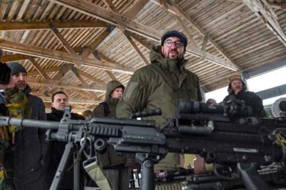 Premier Michel: 'Defensie moet komende jaren duizenden nieuwe militairen rekruteren'