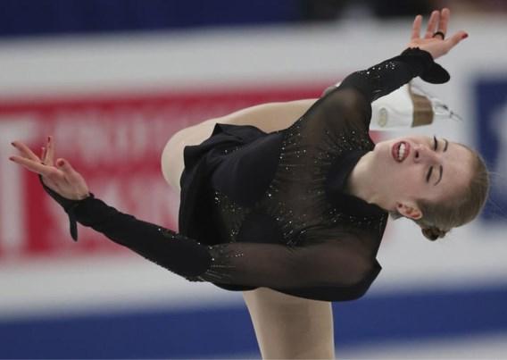 Italiaanse Carolina Kostner haakt geblesseerd af voor WK kunstschaatsen