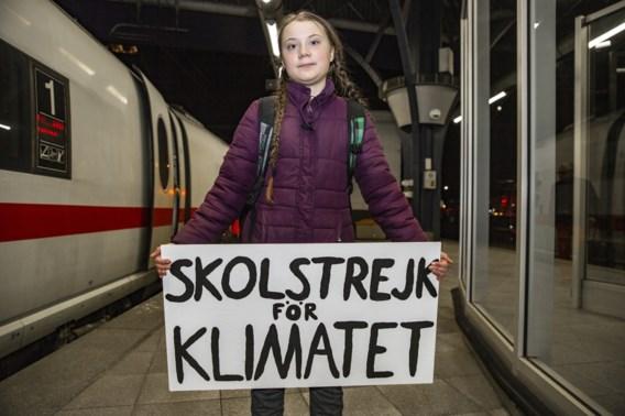 Klimaatactiviste Greta Thunberg aangekomen in Brussel