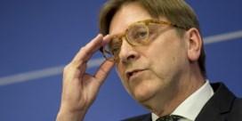 Guy Verhofstadt: 'Oekraïne lid van de EU? Dat is niet de juiste weg, denk ik'