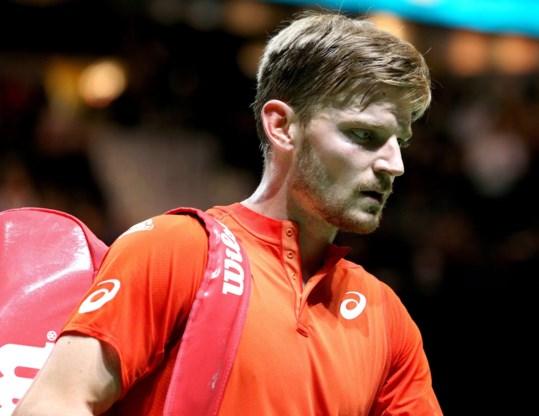 David Goffin verliest halve finale in Marseille tegen Griek Stefanos Tsitsipas