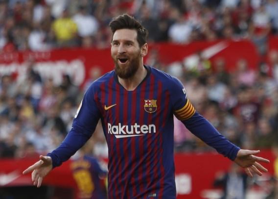 Lionel Messi is opnieuw de God van Barcelona: Argentijn scoort magistrale hattrick tegen Sevilla in Spaanse topper
