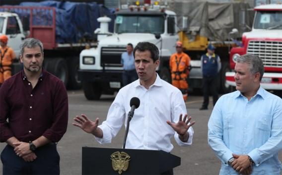 Colombiaanse president eist vrije doorgang voor hulpgoederen