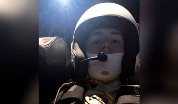 Stoffel Vandoorne in de Mercedes F1-simulator