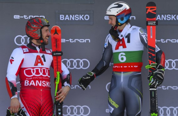 WB alpijnse ski - Noor Kristoffersen wint reuzenslalom in het Bulgaarse Bansko, Sam Maes haalt tweede run niet