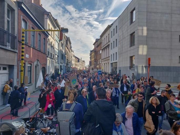 Minstens 10.000 betogers voor Gentse klimaatmars