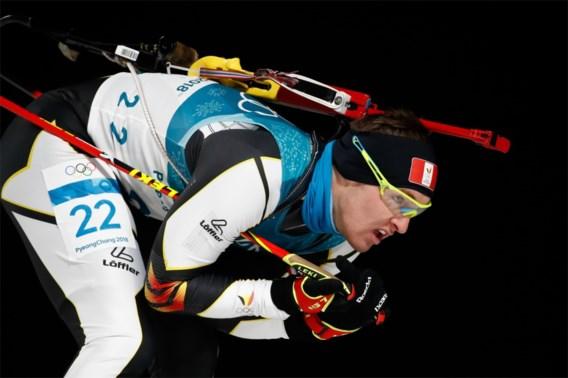 Florent Claude wordt achtste in achtervolging op het EK biatlon in Wit-Rusland