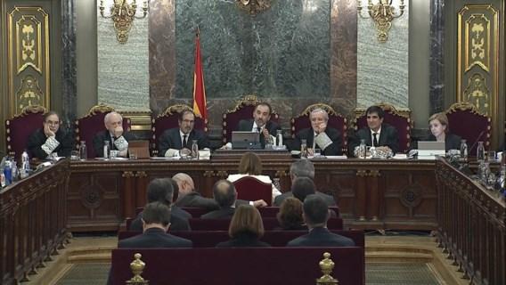 Politieke hoogdag in het Spaanse Hooggerechtshof