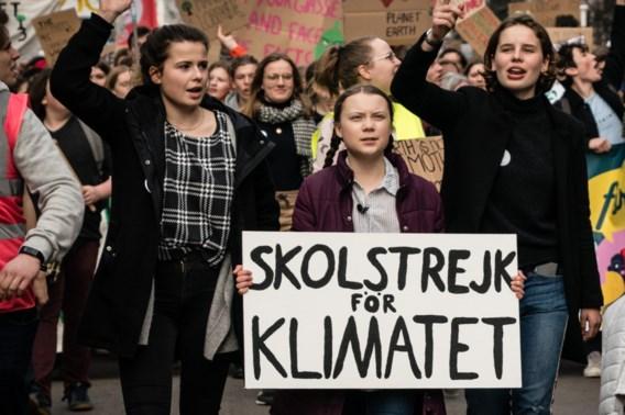 Antwerpen morgen decor van grote klimaatmars, mét Greta Thunberg