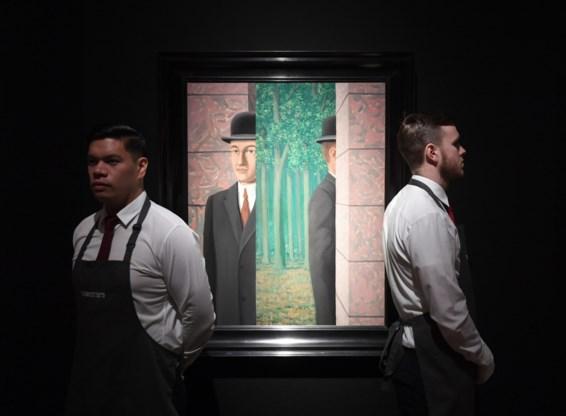 Zeven Magrittes geveild voor meer dan 37 miljoen euro in Londen
