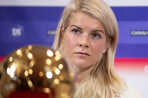 Beste voetbalster Ada Hegerberg weigert te spelen op het WK: 'Het draait niet altijd om geld'