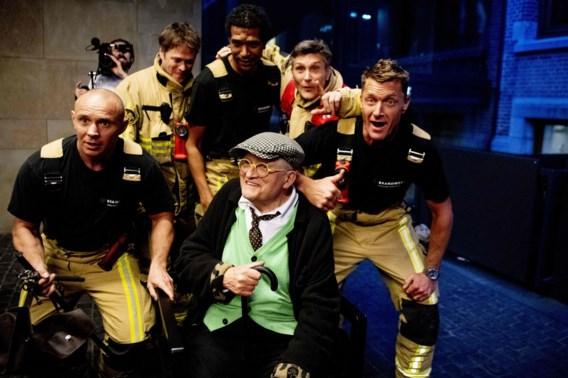David Hockney gered uit Amsterdamse lift