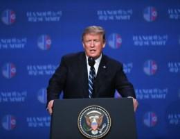Top Trump en Kim onverwacht afgebroken: 'Kim wilde alle sancties weg, hebben geweigerd'