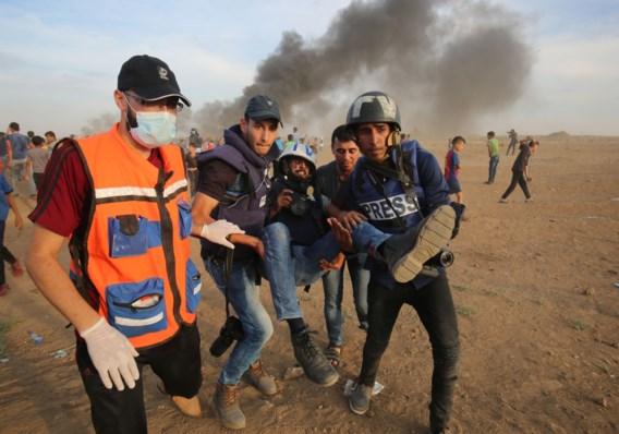 Israëlische soldaten beschoten 'demonstranten die geen directe dreiging vormden'