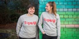 Topwijven Tessa Wullaert en Tine Debaets ontwerpen collectie voor Special Olympics