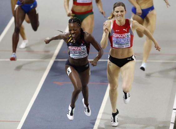 Zilver en toch drama voor België: Bolingo komt één honderdste tekort voor Europese titel indoor op de 400 meter