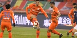 Marouane Fellaini pakt met Chinese club een punt in Champions League voor Aziatische en Australische teams