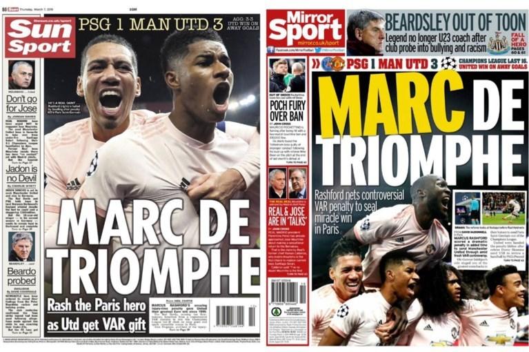 Engelse en Franse kranten lovend voor Lukaku na topmatch in Parijs: 'Sommigen zullen hun mening over hem moeten herzien'