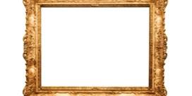 Welke lijst moet er rond een schilderij?