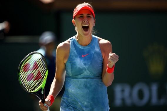 Belinda Bencic blijft stunten en zit bij laatste vier na zege tegen Karolina Pliskova