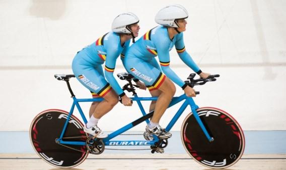 Zilver voor Griet Hoet en Annellen Monsieur op WK baanwielrennen paracycling in achtervolging