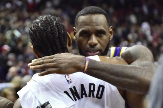 NBA. Europese toppers zorgen voor thriller in Denver, play-offs héél ver weg voor LeBron James en zijn LA Lakers