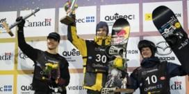 Seppe Smits wint slotmanche van WB snowboard big air in Quebec