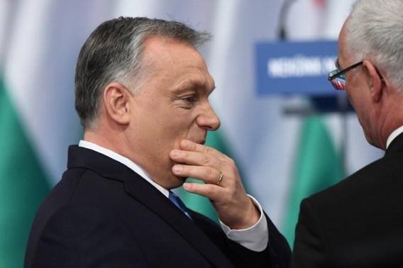 EVP denkt aan schorsing Fidesz, Herman Van Rompuy genoemd als 'wijze'