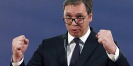 Woede Serviërs bereikt kookpunt