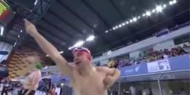Belgische special olympiër wint gouden medaille en viert dat uitbundig