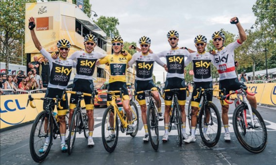 Officieel: Team Sky wordt vanaf 1 mei Team Ineos: