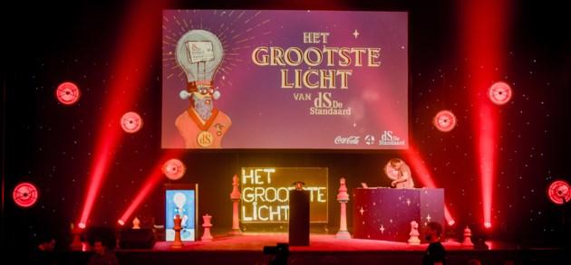 IN BEELD. Het Grootste Licht van De Standaard is naast de spannendste ook de grappigste jongerenquiz van Vlaanderen.
