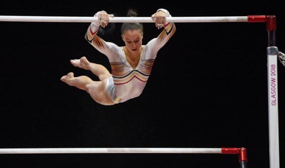 Nina Derwael meteen foutloos bij eerste wedstrijd (in de zaal van haar wereldtitel)