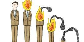 Man en vrouw even vatbaar voor burn-out