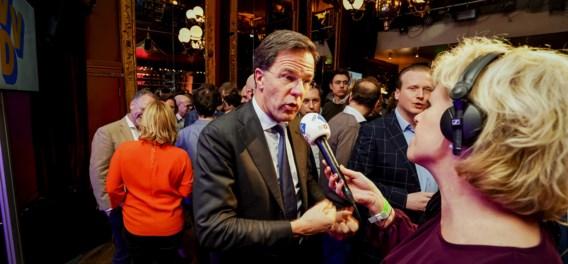 'Voor Mark Rutte is dit toch een zeer zware klap'