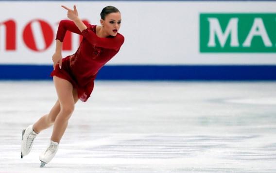 Loena Hendrickx eindigt als twaalfde op WK kunstschaatsen en is beste West-Europese