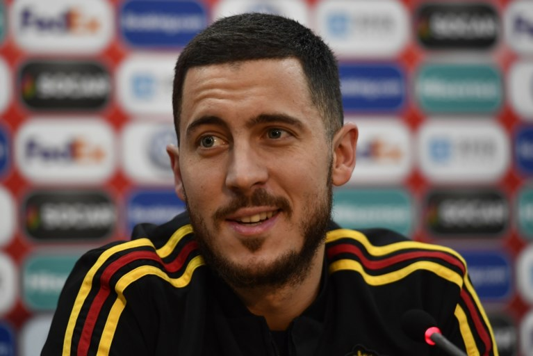 """Eden Hazard geeft boodschap mee bij 100ste interland: """"Ik laat mijn plaats graag aan de jeugd"""""""
