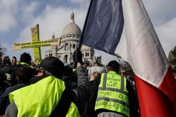 Ruim 40.000 gele hesjes op straat in Frankrijk