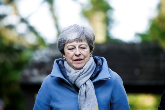 Britse premier May in crisisberaad