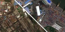 Satellietbeelden tonen enorme verwoesting na passage cycloon
