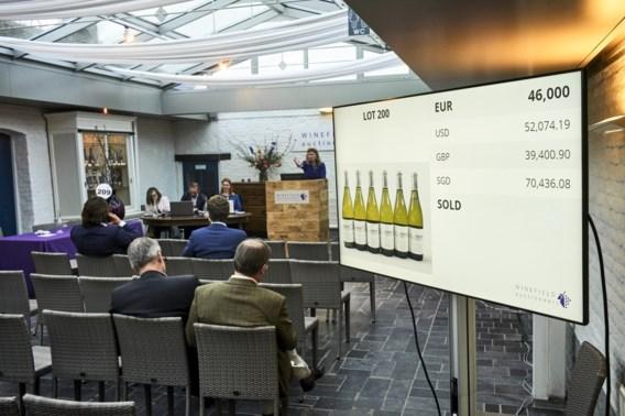 Eerste deeltje van unieke wijncollectie onder de hamer voor 1,75 miljoen euro