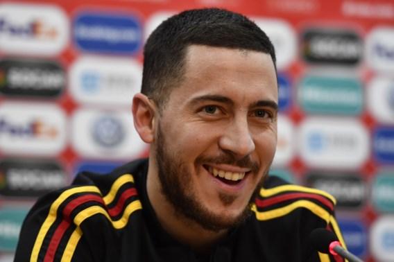 Eden Hazard speelt 100ste interland: 'Ik laat mijn plaats graag aan de jeugd'