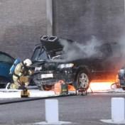 Ditmaal brandende auto's in Hoboken