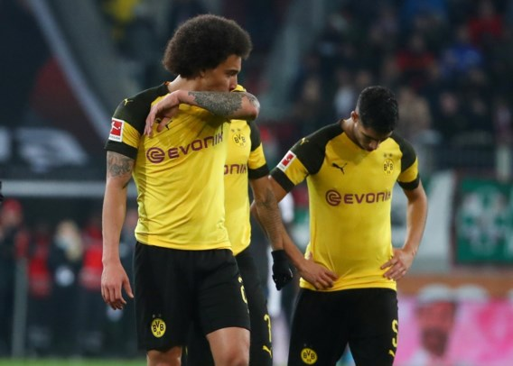 Axel Witsel traint opnieuw mee met Borussia Dortmund