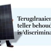 Terugdraaiende teller behouden is 'discriminatie'
